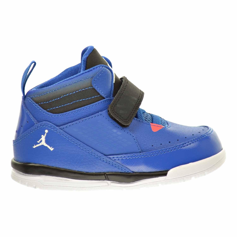 43c4d850d53 Amazon.com | Jordan Flight 97 BT Toddler's Shoes Sport Blue/White/Black/Infrared  23 654980-423 (4 M US) | Sneakers