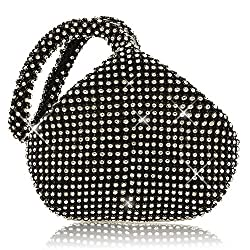 Women's Full Rhinestones Evening Clutch Bag