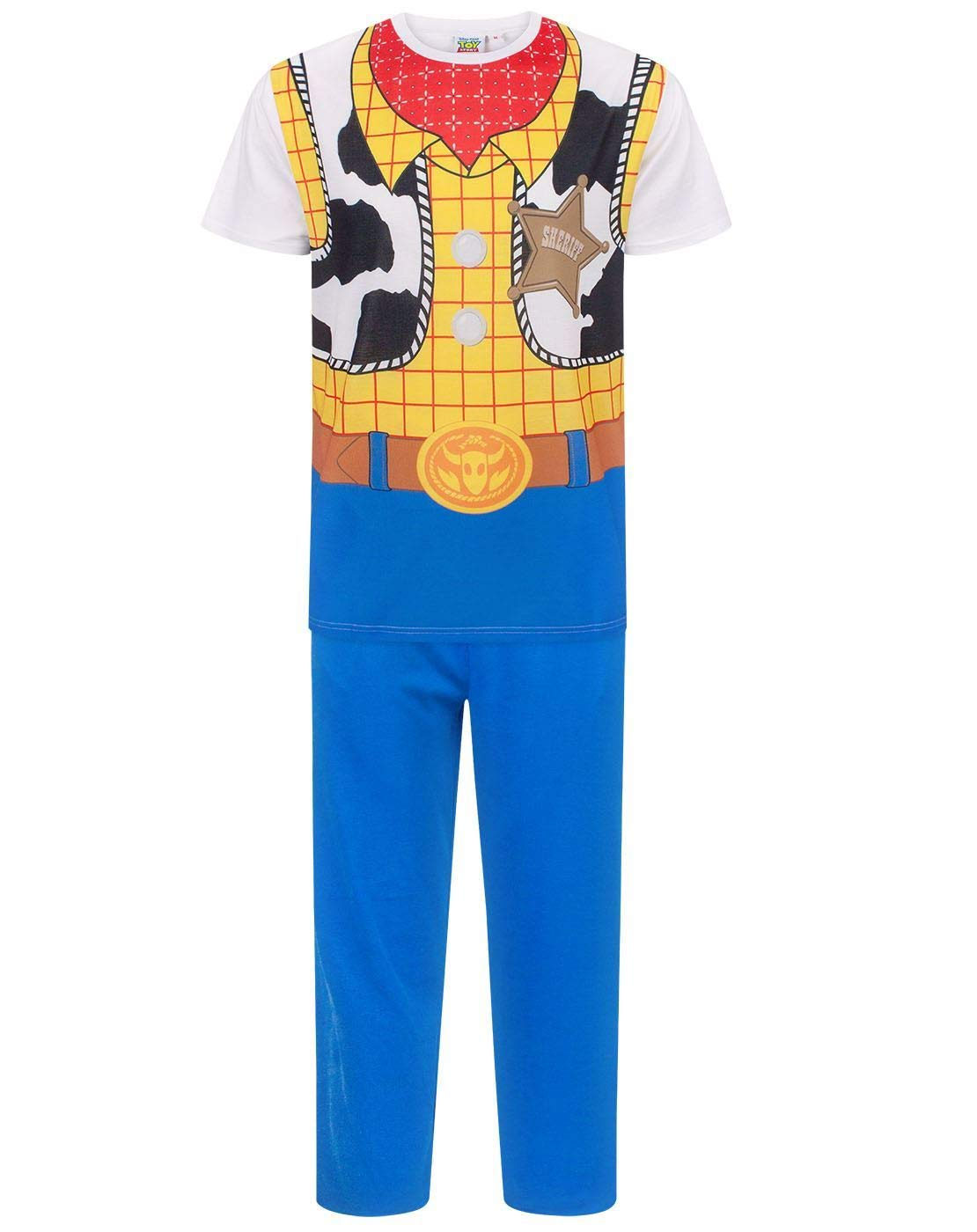 Disney Toy Story Woody Costume Men's Pyjamas (S)