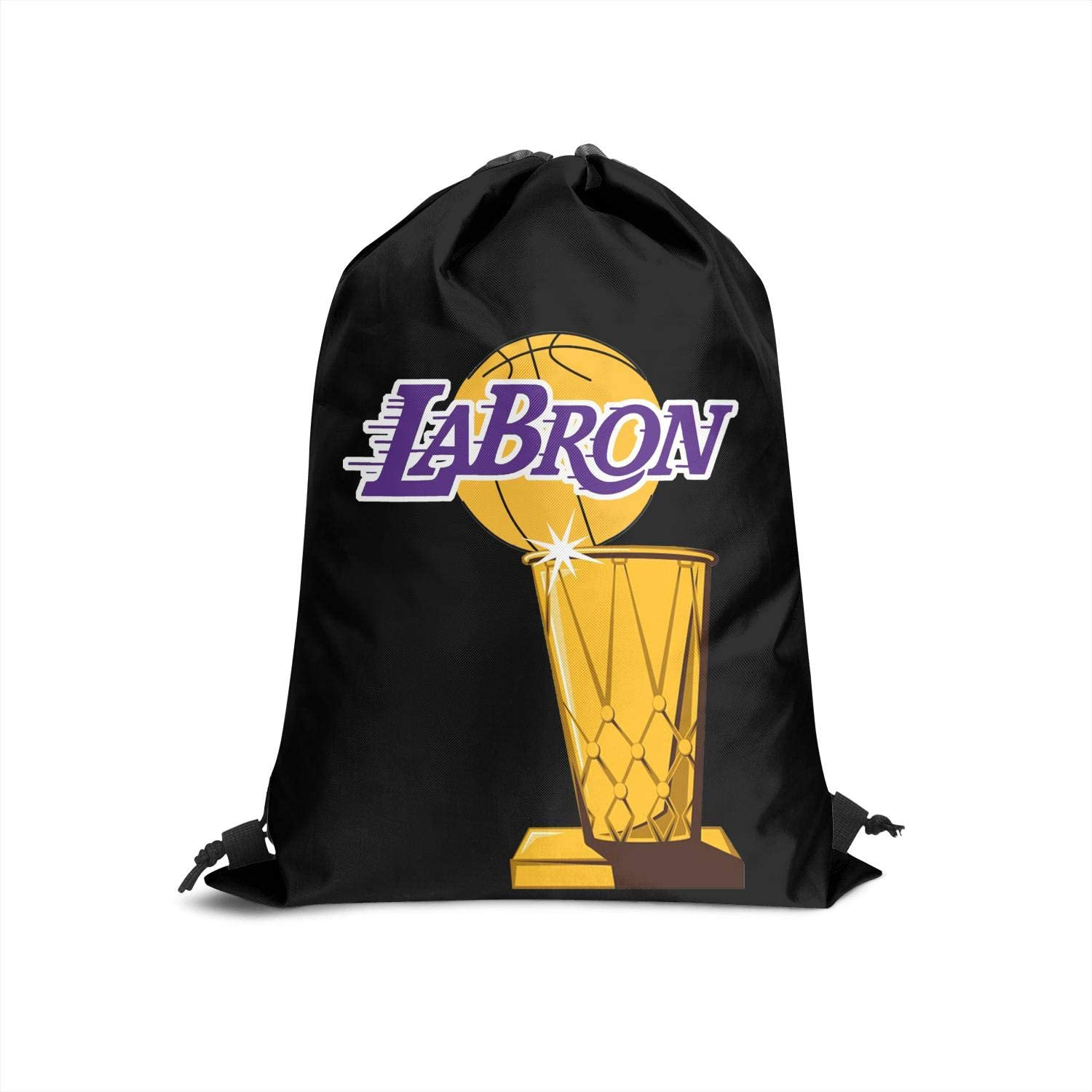 Drawstring Bags for Women /& Men GUYI3 Bags Athletic Casual Gold-23-Labron