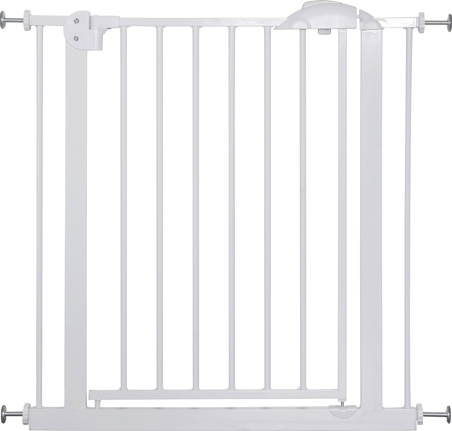 IB-Style - Door- & Stairgate Safetygate MIKA WHITE | 75-175 cm | 29.5