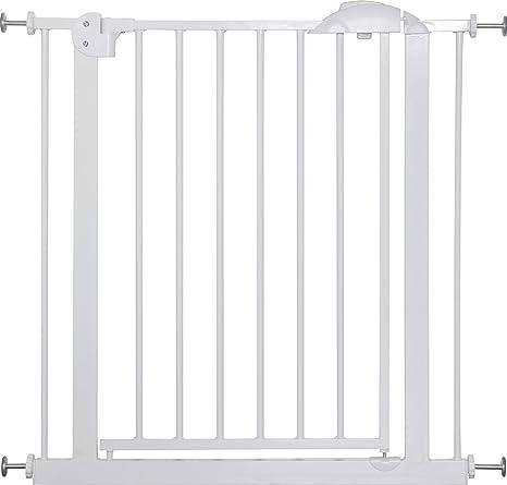 IB-Style - Treppengitter/Türgitter MIKA | Erweiterbar durch Verlängerungen | 75-175 cm | Auto-Close - automatisches Schließen
