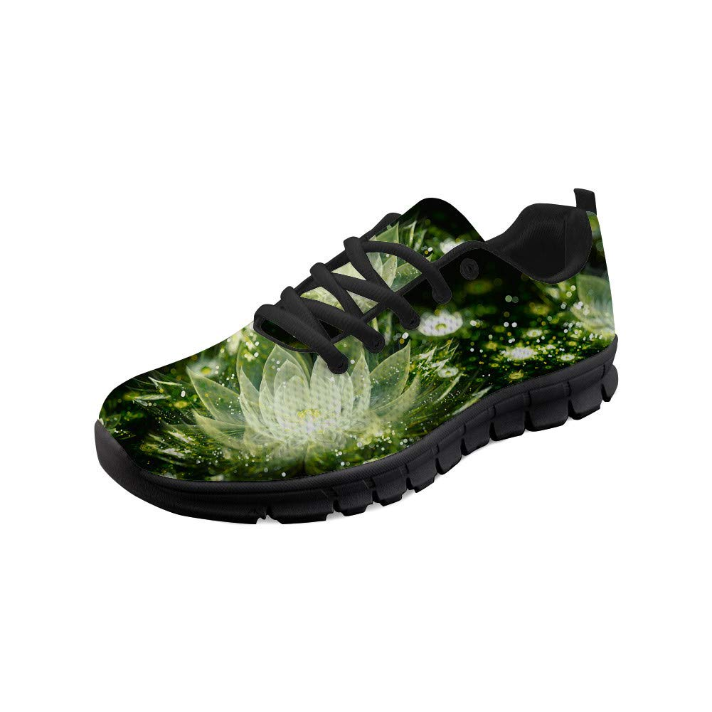 frestree Sneakers Shoes Women Running Shoes Breathable Mesh Shoes Comfy Walking Shoes Road Running Shoes Tennis Shoes with Flower