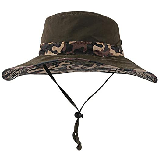 7b60a6bd Floppy Hat Fisherman Boating Snap Brim Hat with Chin Strap Sun ...
