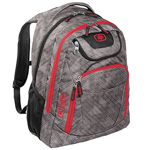 Ogio Business Excelsior Backpack - 4 Colours / 15.5' x 11.25' - Cynderfunk/Red