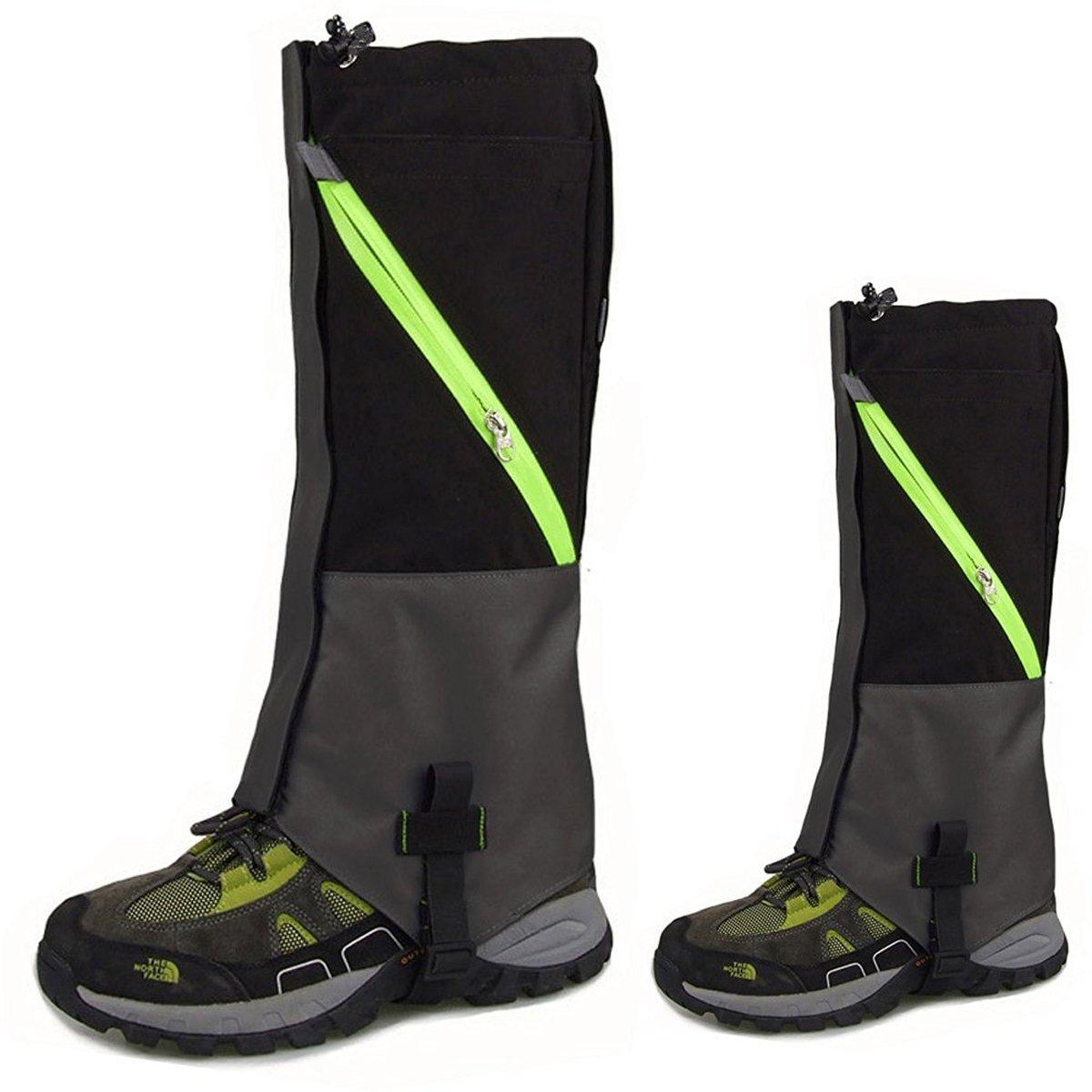 KepooMan 1 Paar Unisex wasserdicht Atmungsaktiv Bein Gamaschen Leggings Wrap f/ür Skifahren Snowboarden Wandern Klettern