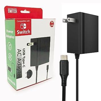 Amazon.com: Lonk Cargador para Nintendo y USB C teléfonos y ...