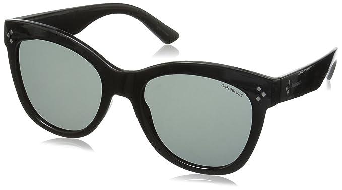 Contemporary Cateye Sunglasses in Shiny Black Polarised PLD 4040/S D28 54 Polaroid pI2Pi4lfz