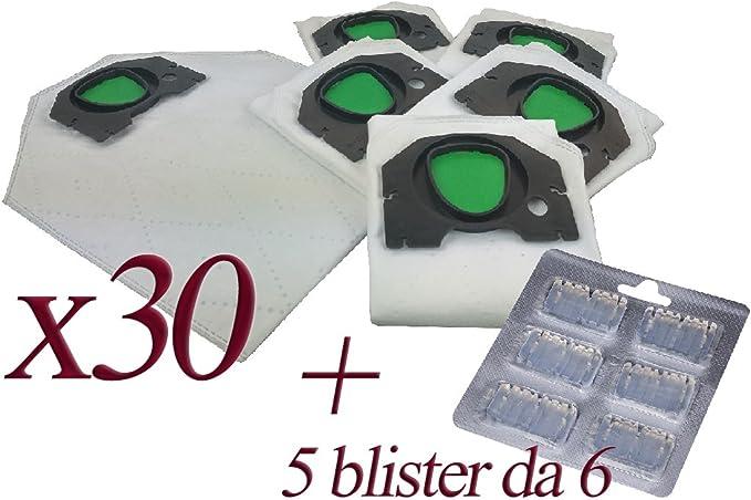 Bolsas de microfibra + ambientador para aspiradora Kobold Vorwerk ...