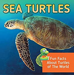 Sea Turtles Marine Oceanography Childrens ebook product image