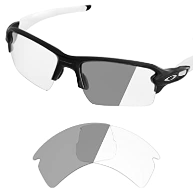 3df12e5b44 Image Unavailable. Image not available for. Color  Tintart Performance  Lenses Compatible with Oakley Flak 2.0 XL - Photochromic Clear ...