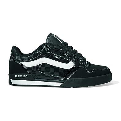 a12cbdc62d VANS M ROWLEY XLT ELITE LS VF7Q3C8, Herren Sneaker, schwarz, (nylon check