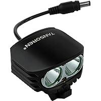 TANSOREN 4000 Lumens Eagle Eye Ultra Bright Waterproof Bike Headlight with LED Light