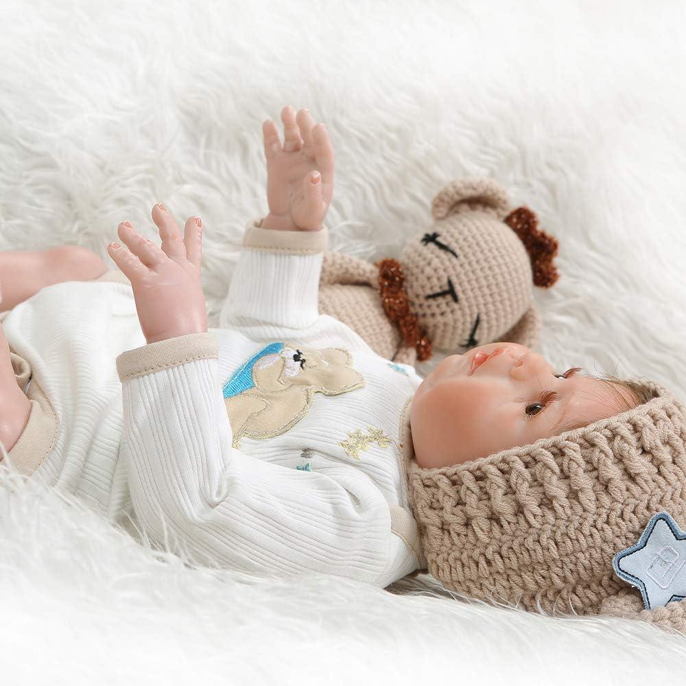 Pinky Reborn Dolls Newborn Doll Twin Baby Boy and Girl Handmade Real Look Full Body Silicone Boy