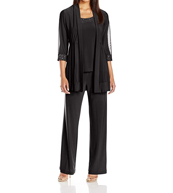 Amazon.com: Conjunto de pantalones para mujer con chaqueta ...