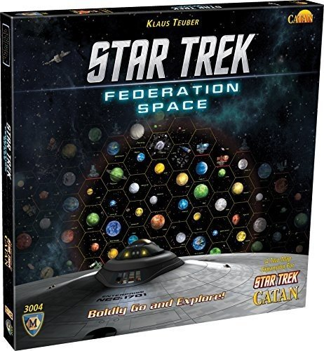 Star Trek Federation Space  A Two Map Expansion For Star Trek Catan