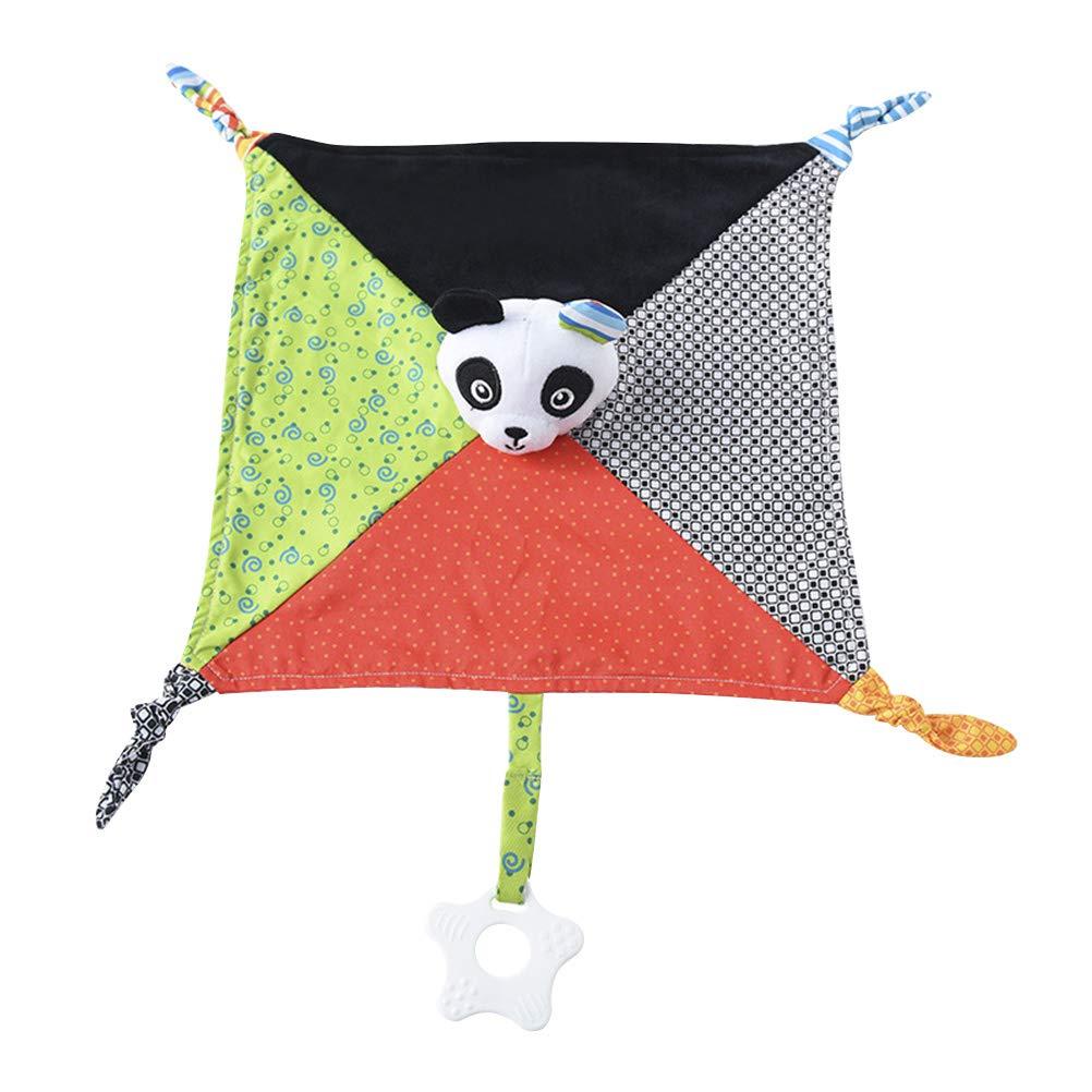 TOYANDONA Doudou de Beb/és con Panda Mantitas de Arrullo para Ni/ños Reci/én Nacidos Panda