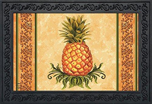 Briarwood Lane Pineapple Fruit Everyday Doormat Indoor Outdoor 18'' x 30''