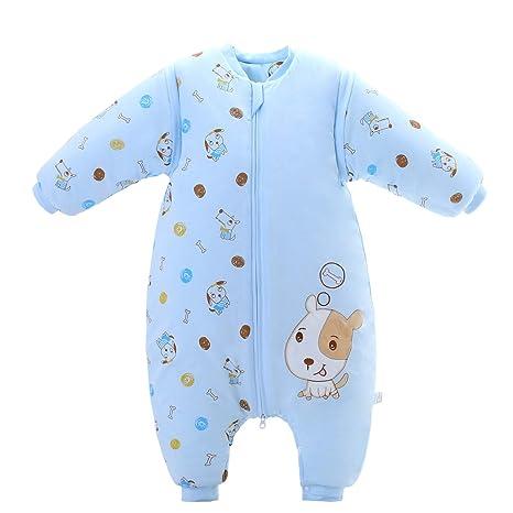 Saco de dormir para bebé de 3,5 tog azul azul Talla:M/