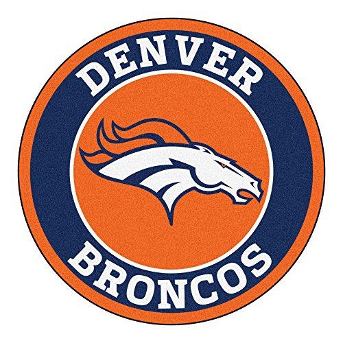 Fanmats 17957 NFL Denver Broncos Roundel Mat ()