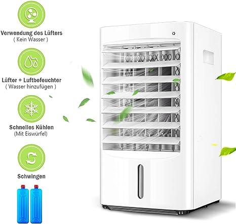 Ventilador de aire acondicionado, portátil, aire acondicionado con ...