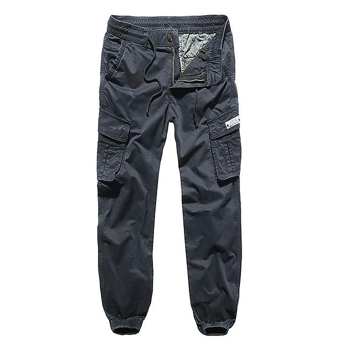 Amazon.com: Pantalones de carga para hombre, ligeros, para ...