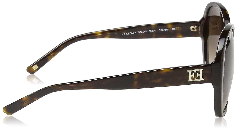 Escada - Lunette de soleil SES308 Papillon - Femme  Amazon.fr  Vêtements et  accessoires e5696d491b36
