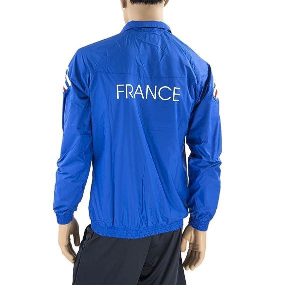 adidas – Chaqueta de chándal de la selección de Francia de Rugby ...
