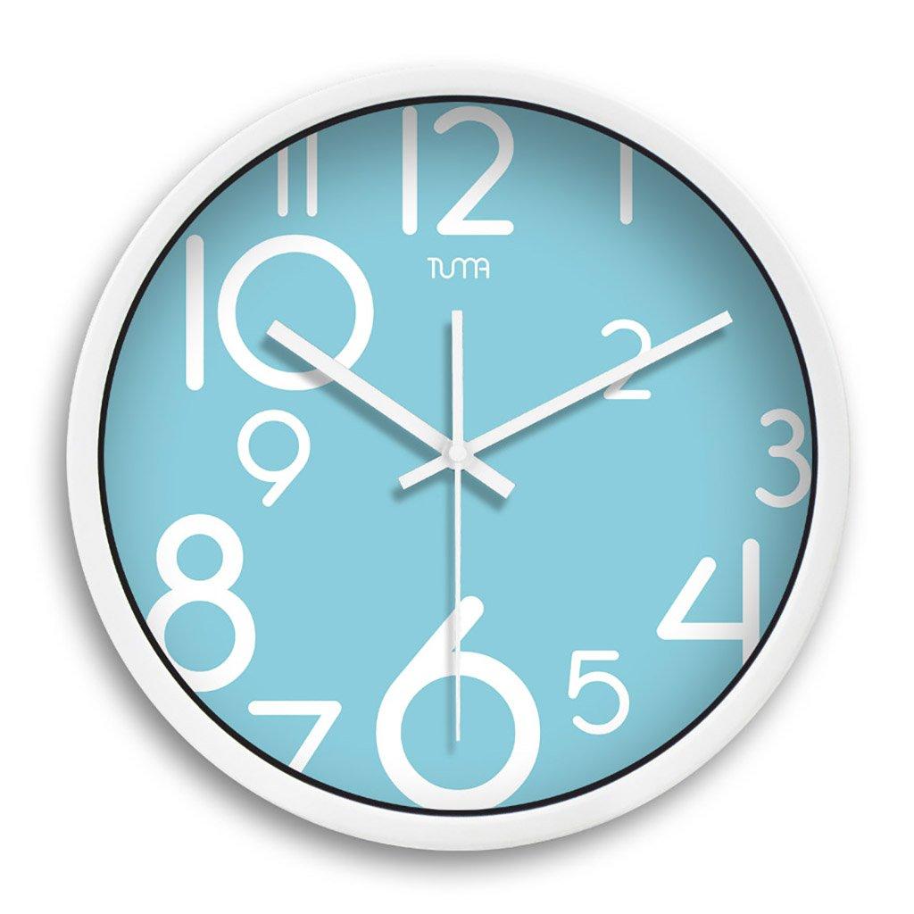 ウォールクロックデジタル現代アートのデザイン12インチ/14インチリビングルームの壁時計 (色 : 2#, サイズ さいず : 14in) B07DHKC3SJ 14in 2# 2# 14in
