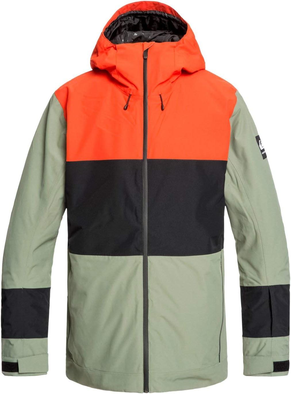 Snow Jacket for Men Snow Jacket Quiksilver Mens Sycamore