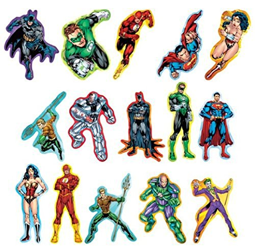 justice league jumbo stickers
