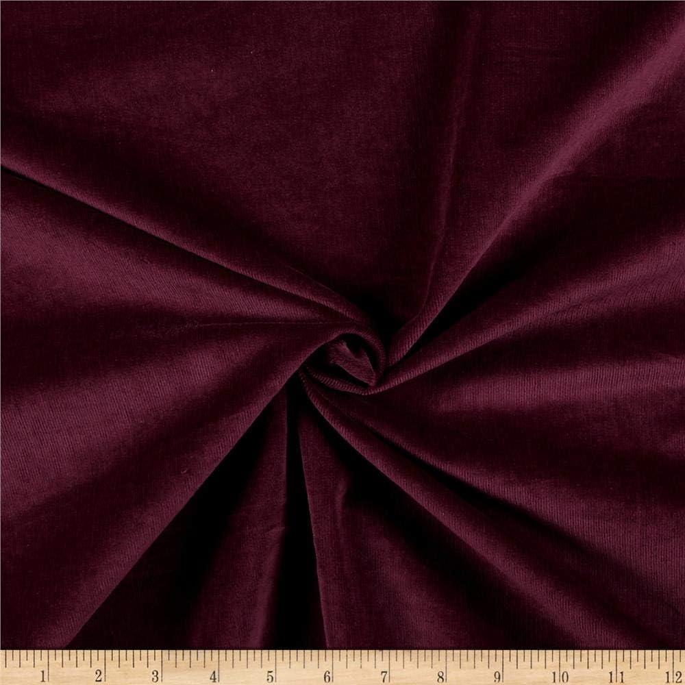 Fabric By The Yard Eggplant Stretch Silk Charmeuse