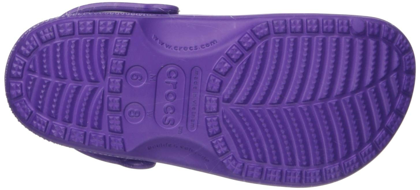 Crocs Classic Clog Adults, neon Purple 11 M US Women / 9 M US Men by Crocs (Image #3)