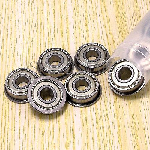 FidgetGear Ball Flanged Shielded Bearings (8mmx22mmx7mm) for 3D Printer 10pcs -