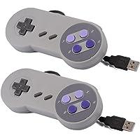 XCSOURCE 2pcs Classic USB Super Game Controller Gamepad for Windows PC/MAC AC440