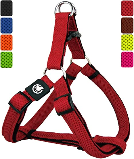 DDOXX Arnés Perro Step-In Air Mesh, Ajustable, Acolchado ...