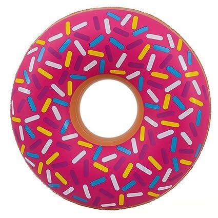 Amazon.com: Kicko Donut inflable grande flotador de piscina ...