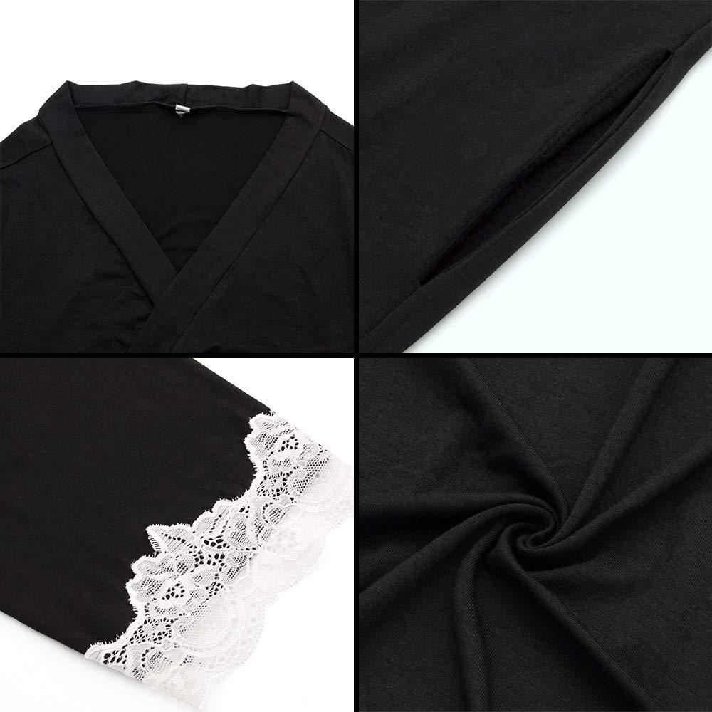 Amazon.com: FerDIM - Albornoz de algodón para mujer con ...