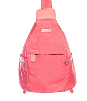 4ce2486414 SPIRIT LIGHTWEIGHT TRAVEL RUCKSACK BACKPACK FAB COLOURS STYLE 9894 in HOT  PINK  Amazon.co.uk  Luggage