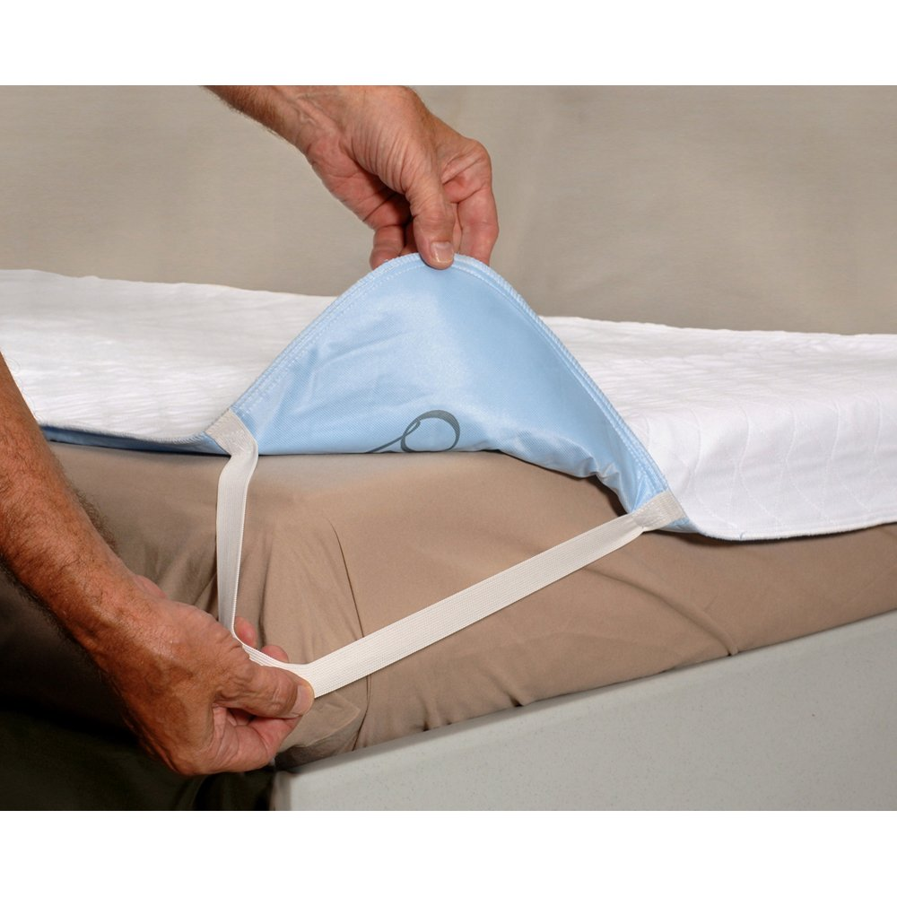 Essential Medical Supply, Inc C2009B-3 Quik Sorb Deluxe 36x72 Underpad with Straps - Bulk 3