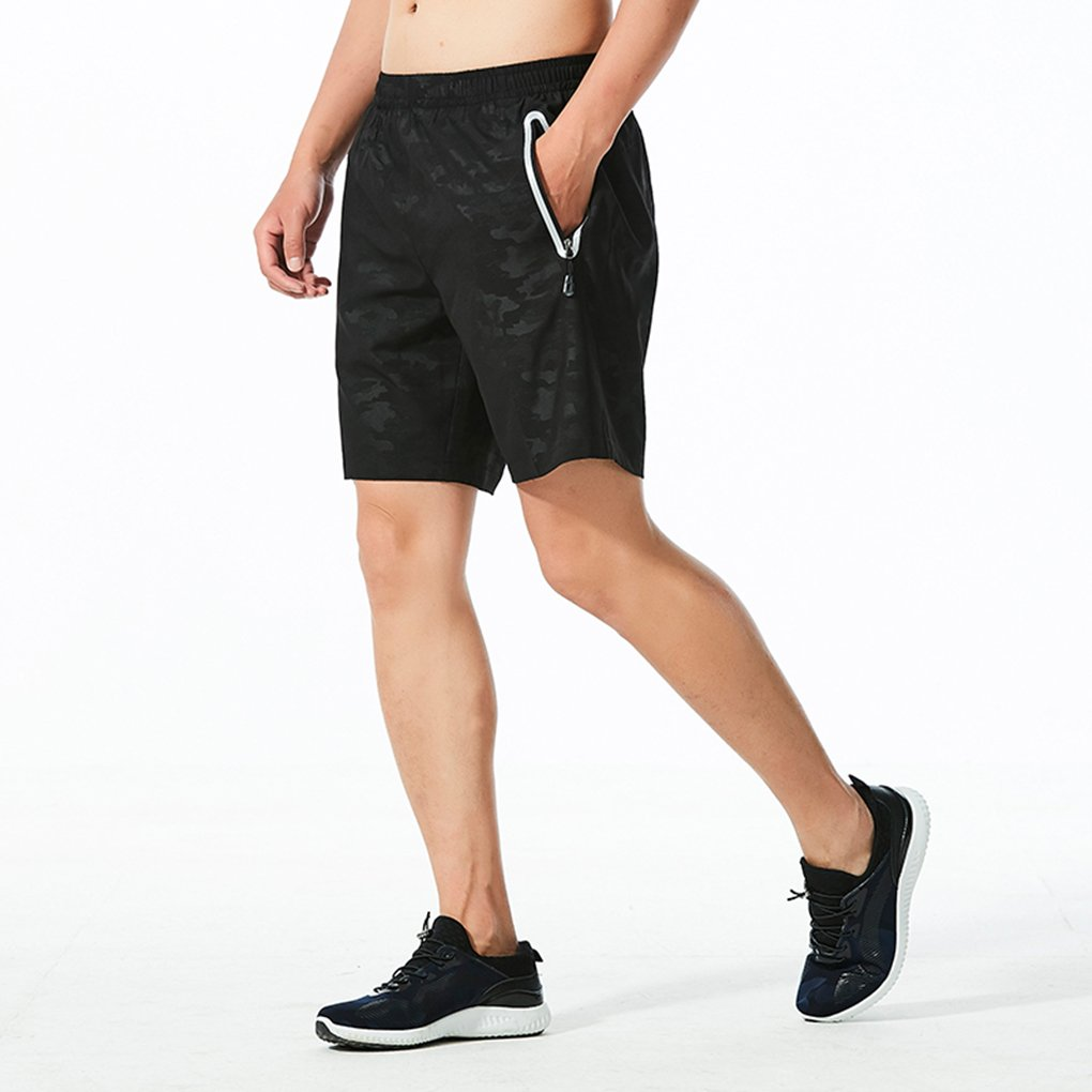 AMORUN Men/'s Workout Pants Quick Dry Athletic Running Shorts with Pockets