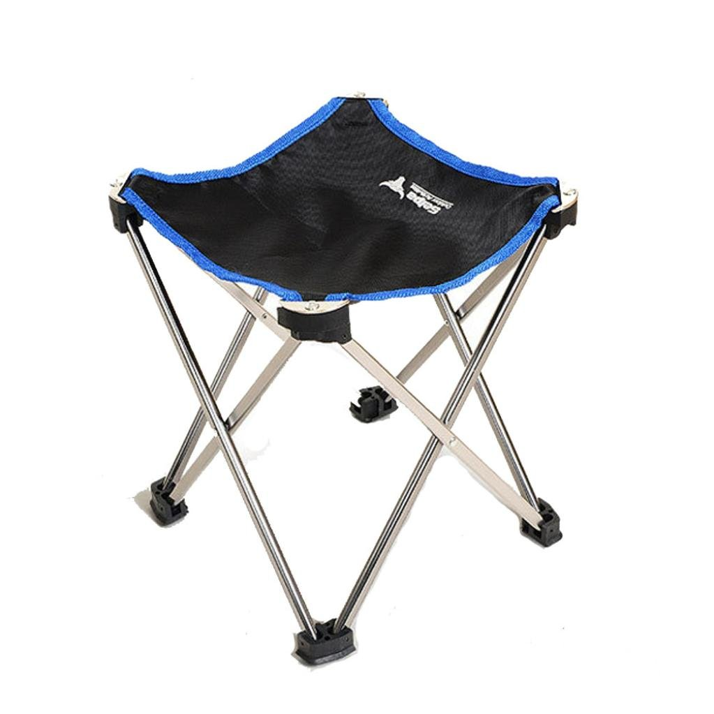 Folding Chair Aluminum Seat for Outdoor Fishing Camping GOTD (L)