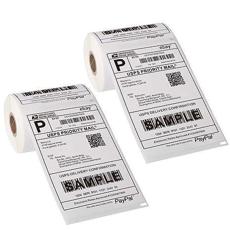 Amazon.com: Dymo 4XL 1744907 - Etiquetas térmicas para ...