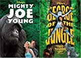 Deep in the heart of the African jungle....George! + Mighty Joe Young the Gorilla DVD Disney Movie Collection Double Feature