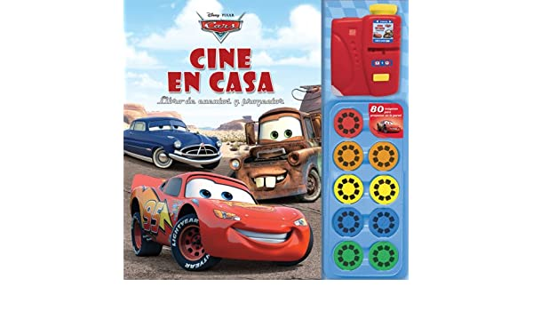 Cars cine en casa / Cars Movie Theater Storybook and Movie ...