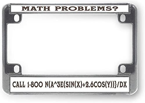 Chrome METAL License Plate Frame RETIRED SEARCH AND RESCUE
