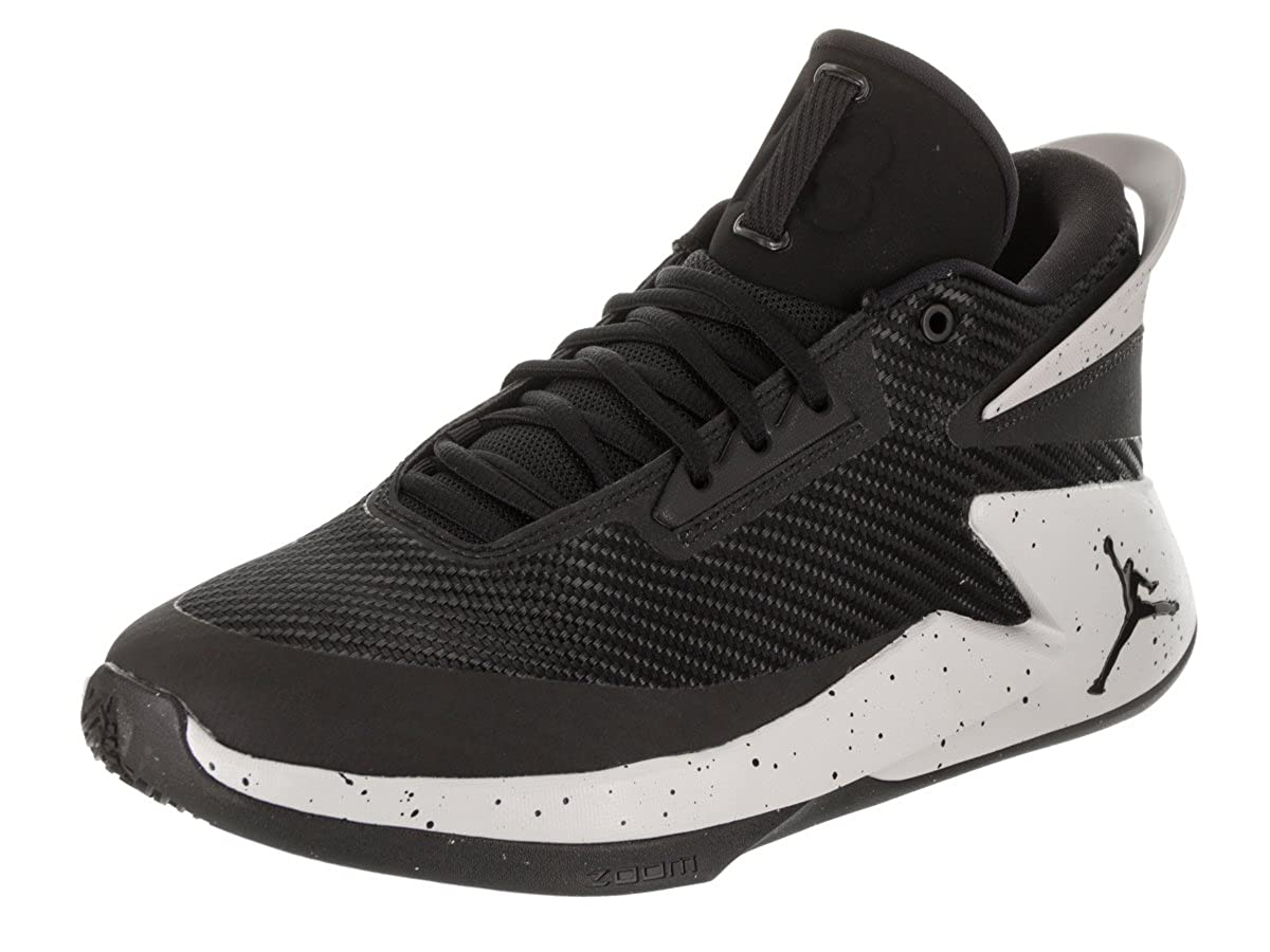4183743bf39 Nike Men s Black Jordan Fly Lockdown Basketball Sport Shoes (8 UK India  (US-9))  Buy Online at Low Prices in India - Amazon.in