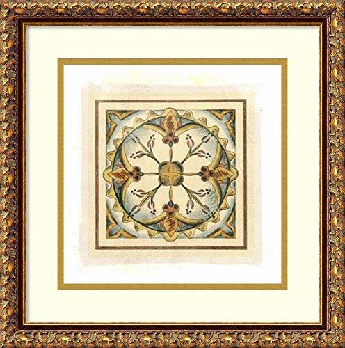 Crackled Cloisonne Tile - 4