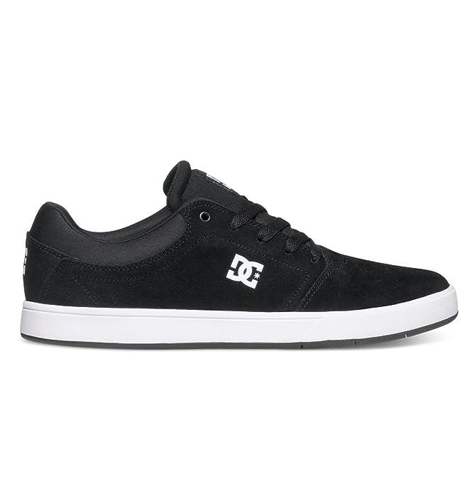 DC Shoes Crisis Sneakers Skateboardschuhe Herren Erwachsene Schwarz/Weiß