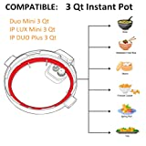 Silicone Sealing Ring for 3 QT Instant Pot